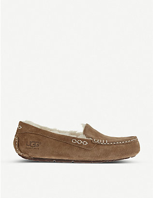 UGG: Ansley suede slippers