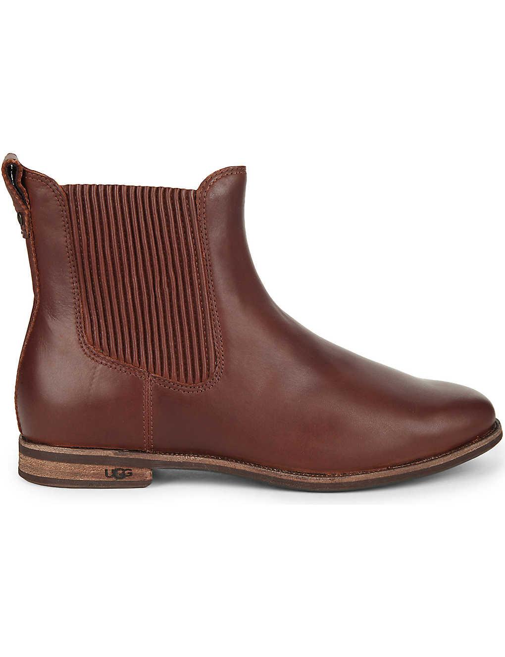 7b52e774c0e UGG - Joey leather boots   Selfridges.com