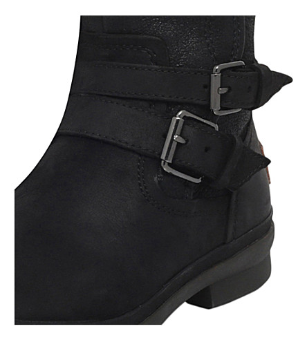 UGG Suedes Simmens buckled suede boots