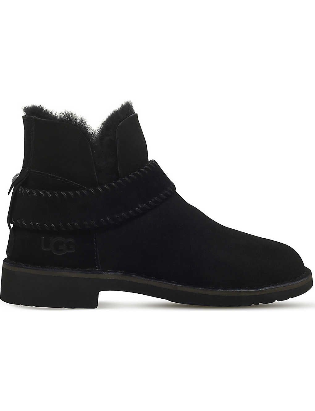 965c7cd14ae UGG - Mckay sheepskin-lined suede ankle boots | Selfridges.com