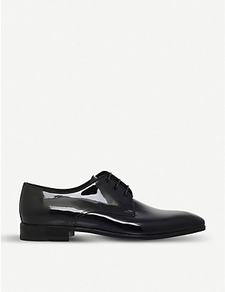 STEMAR: Scala patent leather derbys