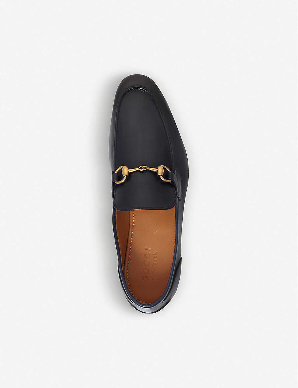 8c3ac532286 ... Jordaan leather loafers - Navy ...