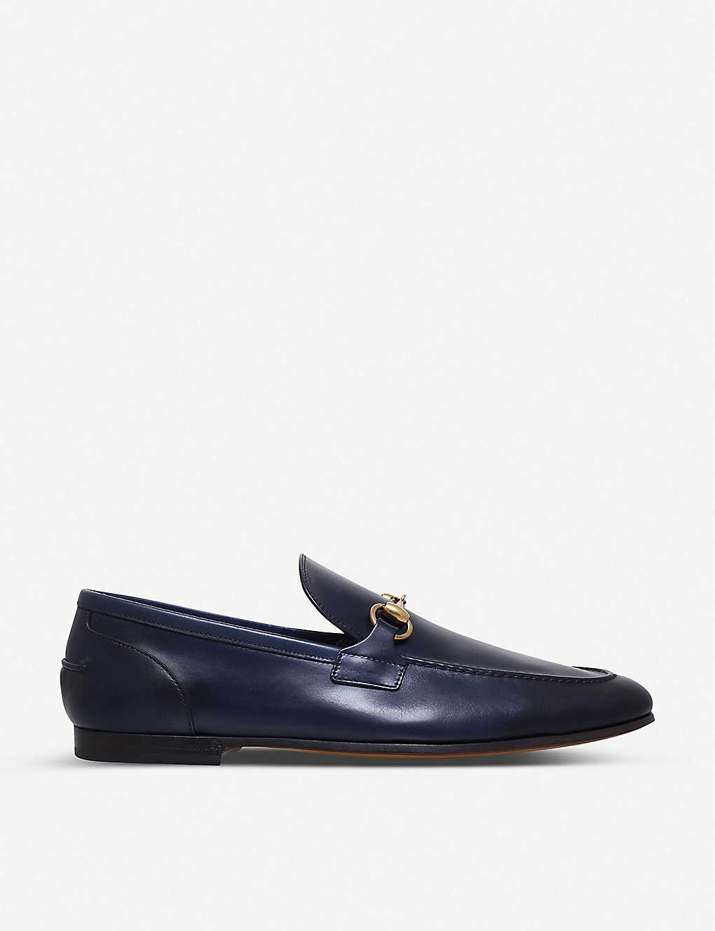 a39bc72f37a Jordaan leather loafers - Navy ...