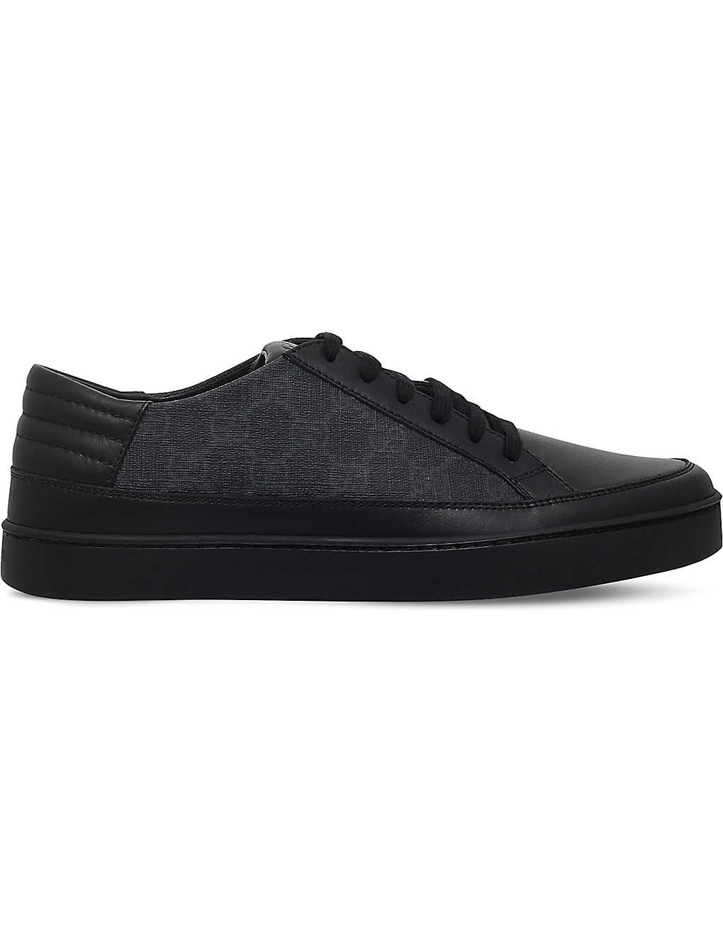 9eaef172d46 GUCCI - Common GG low-top trainers