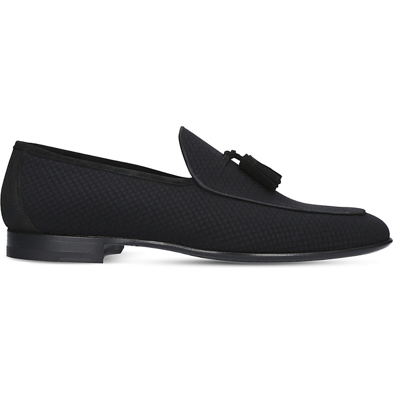MAGNANNI | Tassel Leather Loafers | Goxip