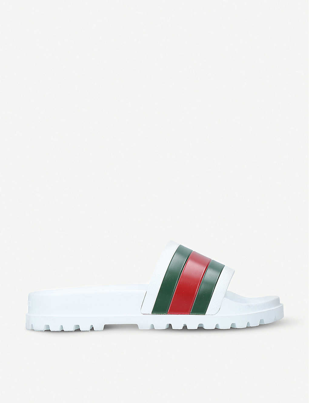 c575709fd73c Pursuit trek rubber slider sandals - White ...