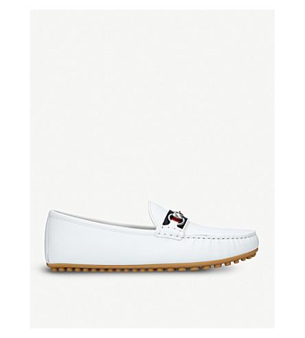 90f2ec296 GUCCI - Kanye leather driving shoes | Selfridges.com