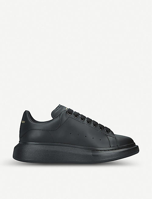 buy popular 422f4 0f61a ALEXANDER MCQUEEN Runway leather platform trainers
