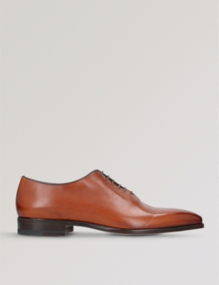 STEMAR Wholecut leather Oxford shoes
