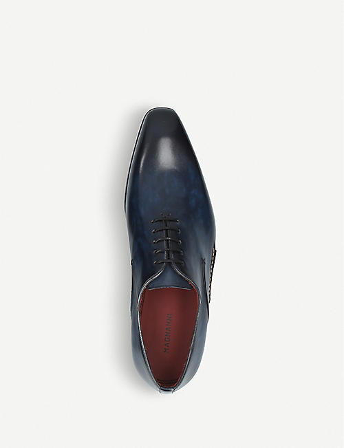 MAGNANNI Opanka leather Oxford shoes