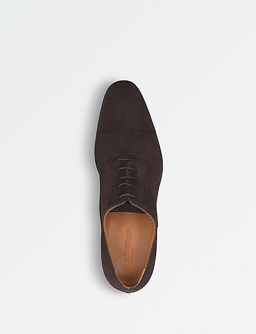STEMAR Udine suede Oxford shoes