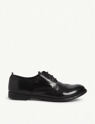 OFFICINE CREATIVE Archive leather derby shoes