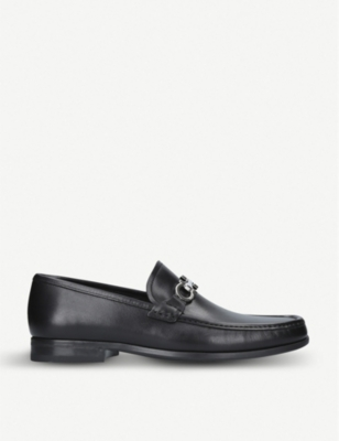 SALVATORE FERRAGAMO Chris Gaucho leather loafers