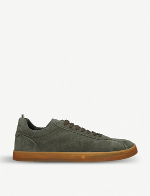 OFFICINE CREATIVE Karma suede trainers