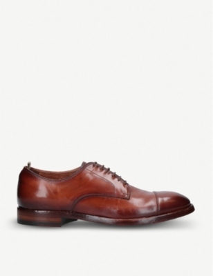 OFFICINE CREATIVE 6-eyelet leather derby shoes