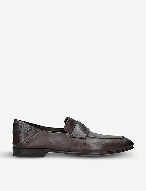 e3b8d6e5788 ERMENEGILDO ZEGNA Asola leather penny loafers