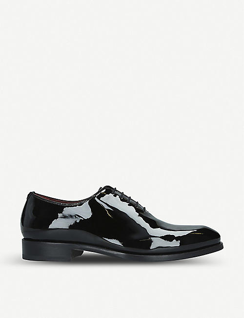 MAGNANNI Wholecut patent leather Oxford shoes