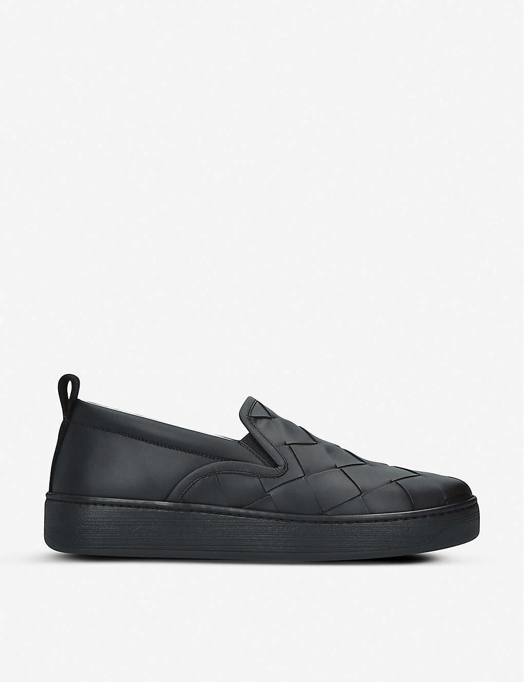 BOTTEGA VENETA: Dodger leather skate shoes