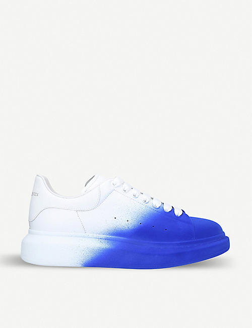 buy online d02df 46e17 ALEXANDER MCQUEEN Show leather trainers