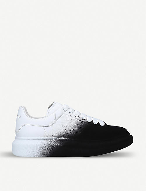 ALEXANDER MCQUEEN Show leather trainers