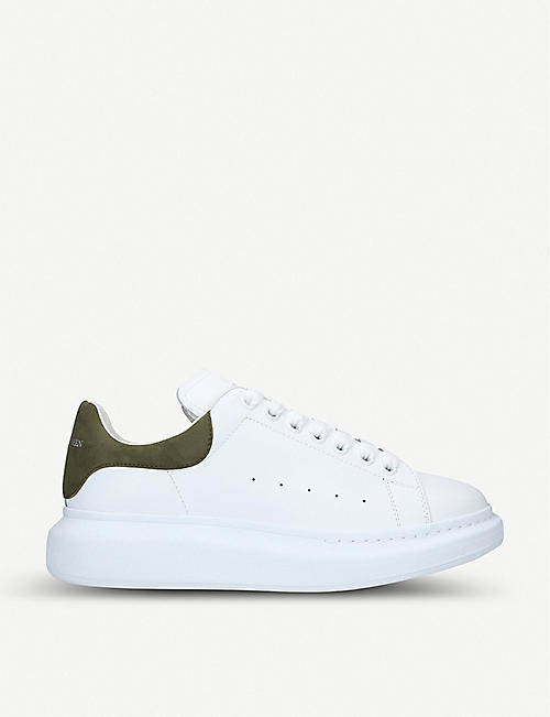 buy online 52f85 d55f0 ALEXANDER MCQUEEN Show leather trainers