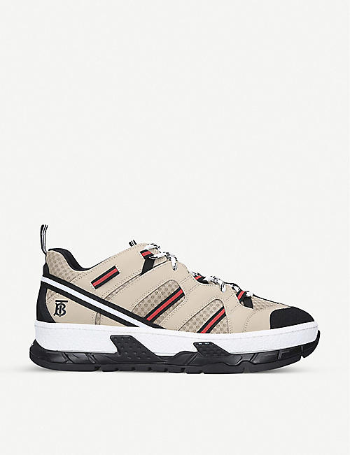 BURBERRY RS5 Runway nylon and mesh trainers