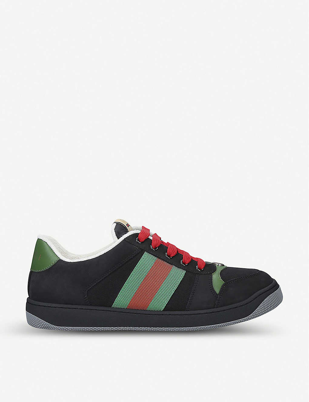 GUCCI: Virtus suede trainers