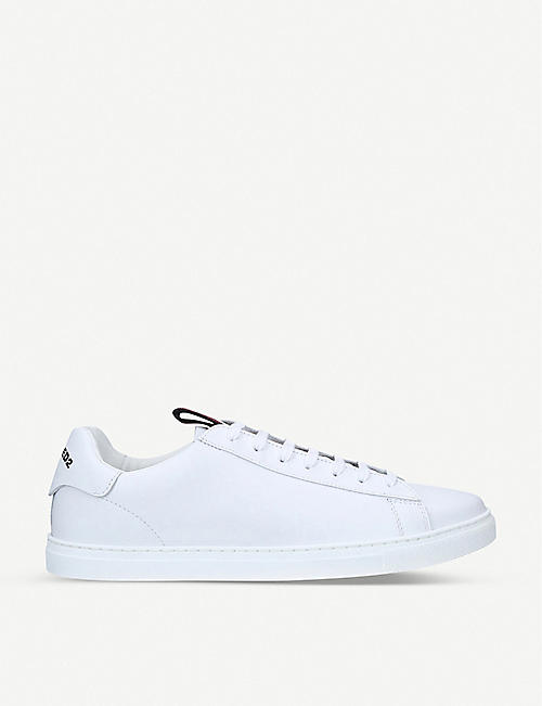 DSQUARED2 Evolution tape leather trainers