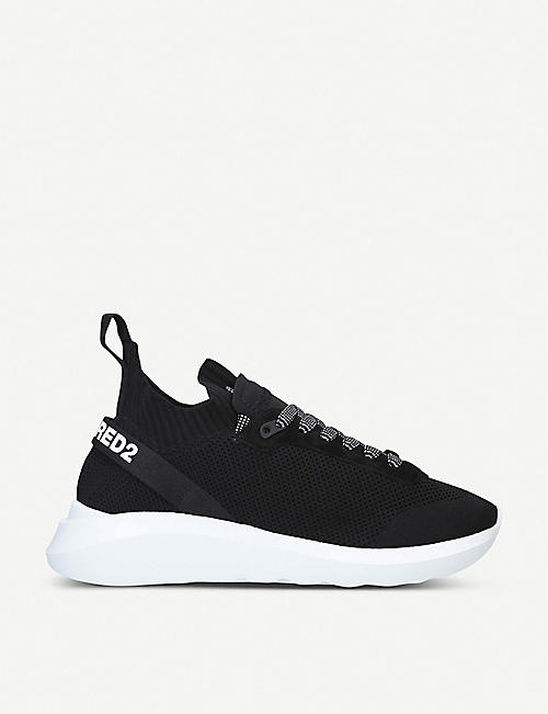 DSQUARED2: Speedster knitted trainers