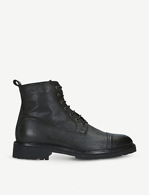 BELSTAFF New Alperton leather ankle boots