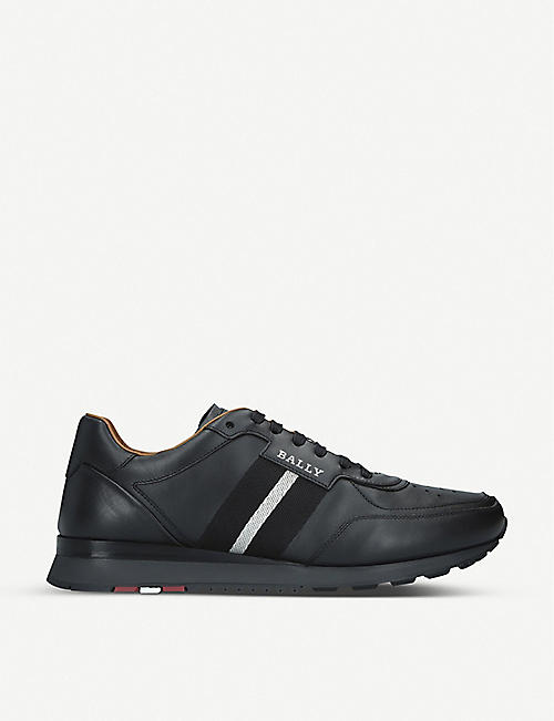 BALLY Aston leather low-top trainers