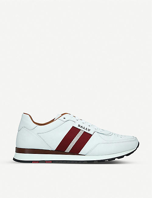 BALLY Aston leather trainers