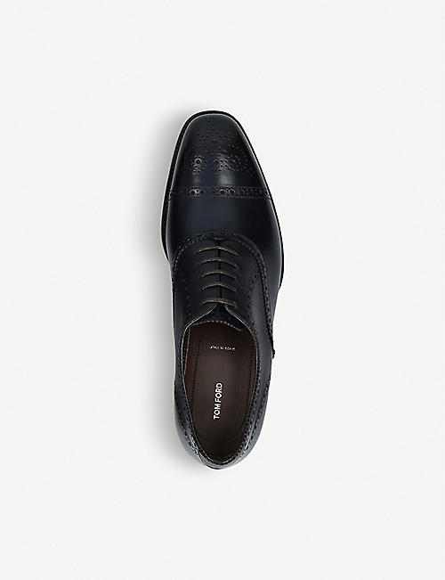 TOM FORD Wessex cap-toe Oxford brogue