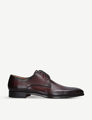 MAGNANNI Derby leather shoes