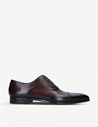 MAGNANNI: Leather Oxford shoes