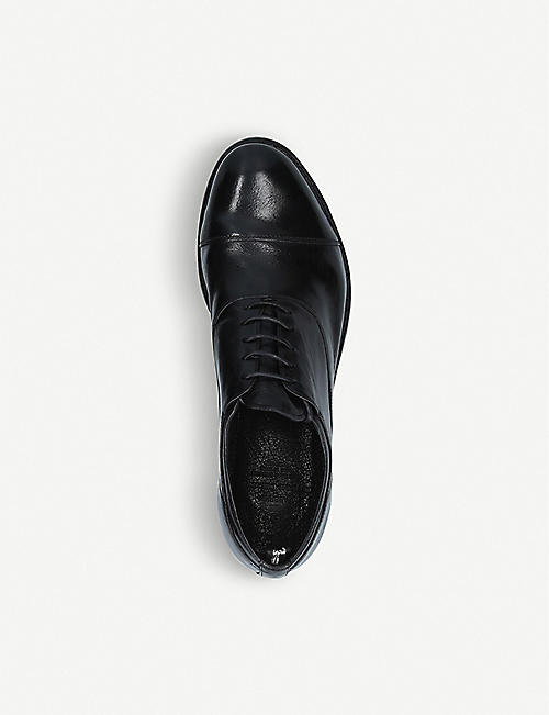 OFFICINE CREATIVE Anatomia laceless leather Derby shoes