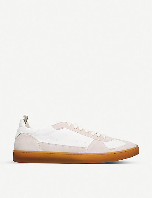 OFFICINE CREATIVE: Kadett suede trainers