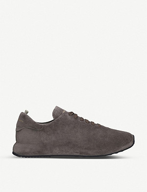 OFFICINE CREATIVE Race 17 suede trainers