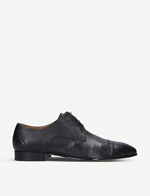 STEMAR Leather derby shoes