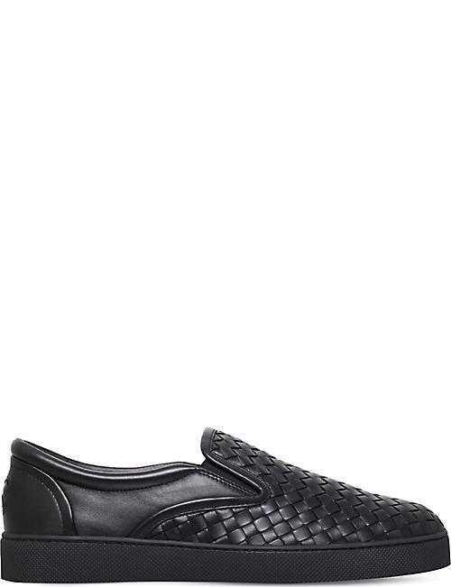 68673960b45 BOTTEGA VENETA Dodger 2 leather skate shoes