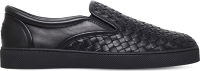 BOTTEGA VENETA Dodger 2 leather skate shoes