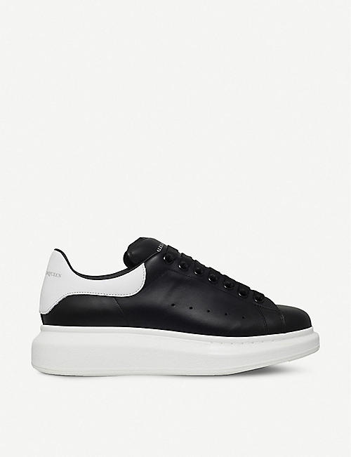 f8cd0a9589 ALEXANDER MCQUEEN Show leather trainers