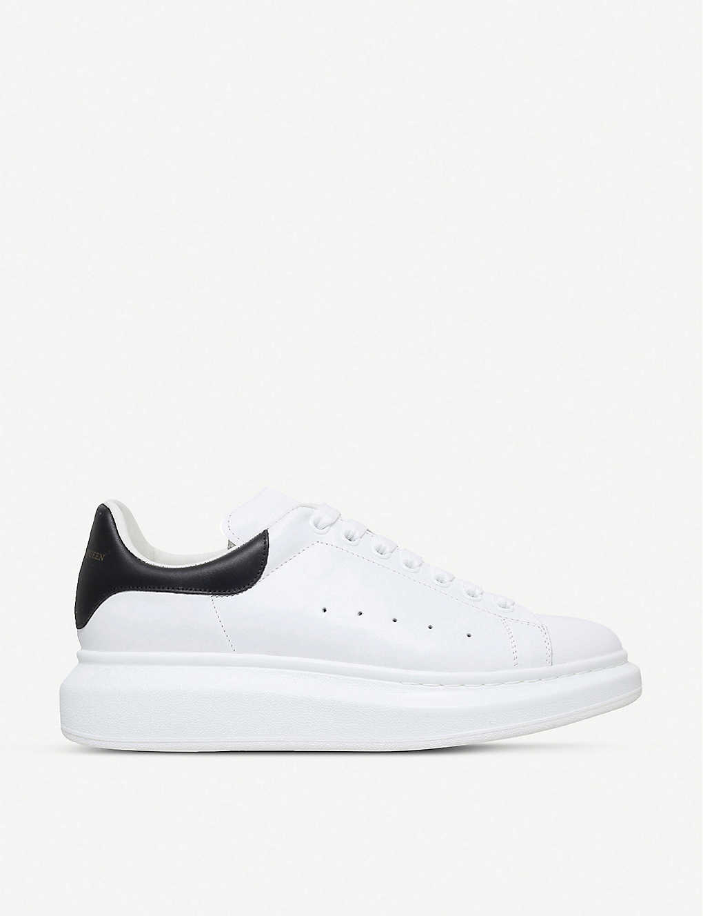 Men's Show leather platform trainers(4107077)