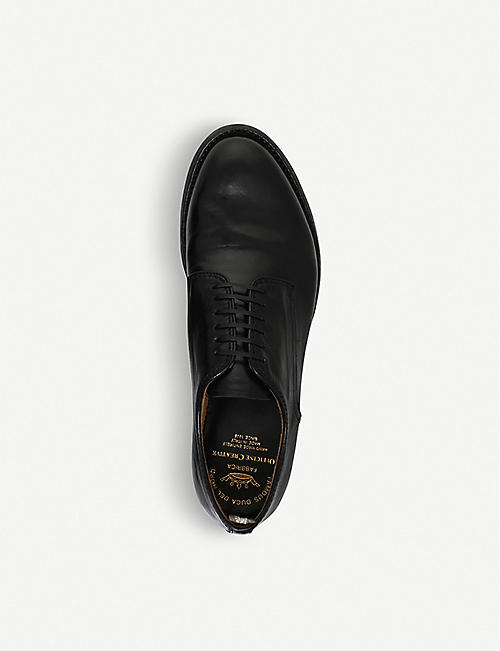 OFFICINE CREATIVE Anatomia leather derby shoes