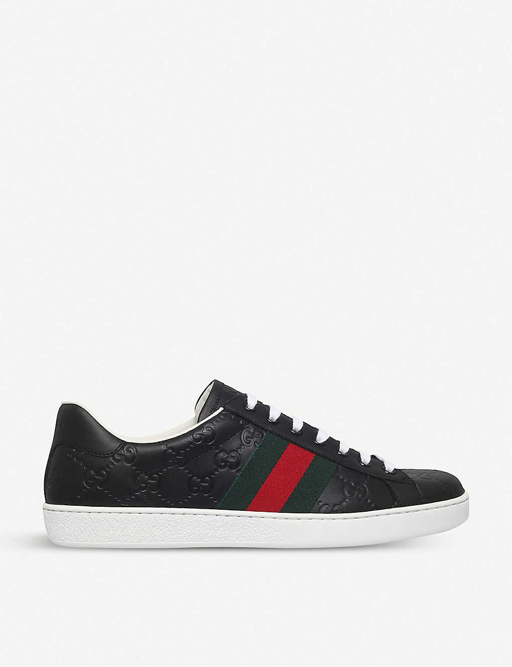 e415894bc GUCCI - New Ace leather trainers | Selfridges.com