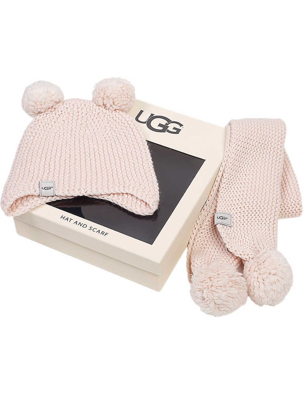 67dc55a562dd43 UGG - Pom pom knit set kids | Selfridges.com