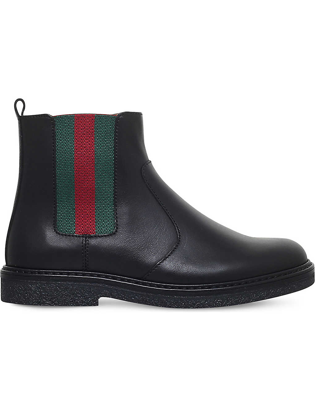 46ba62289 GUCCI - Joshua leather chelsea boots 4-8 years | Selfridges.com