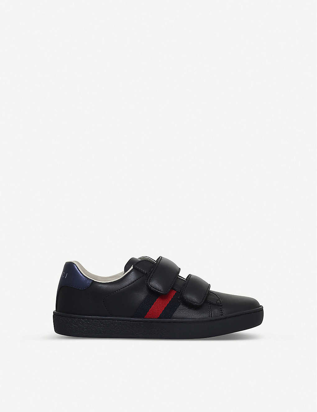 GUCCI: New Ace VL leather trainers 4-8 years