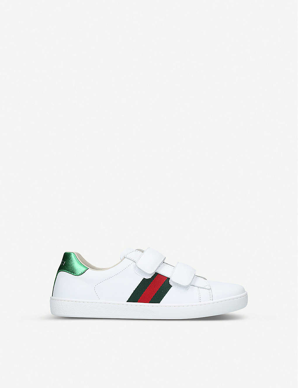 bacd64406 GUCCI - New Ace VL leather trainers 8-10 years | Selfridges.com
