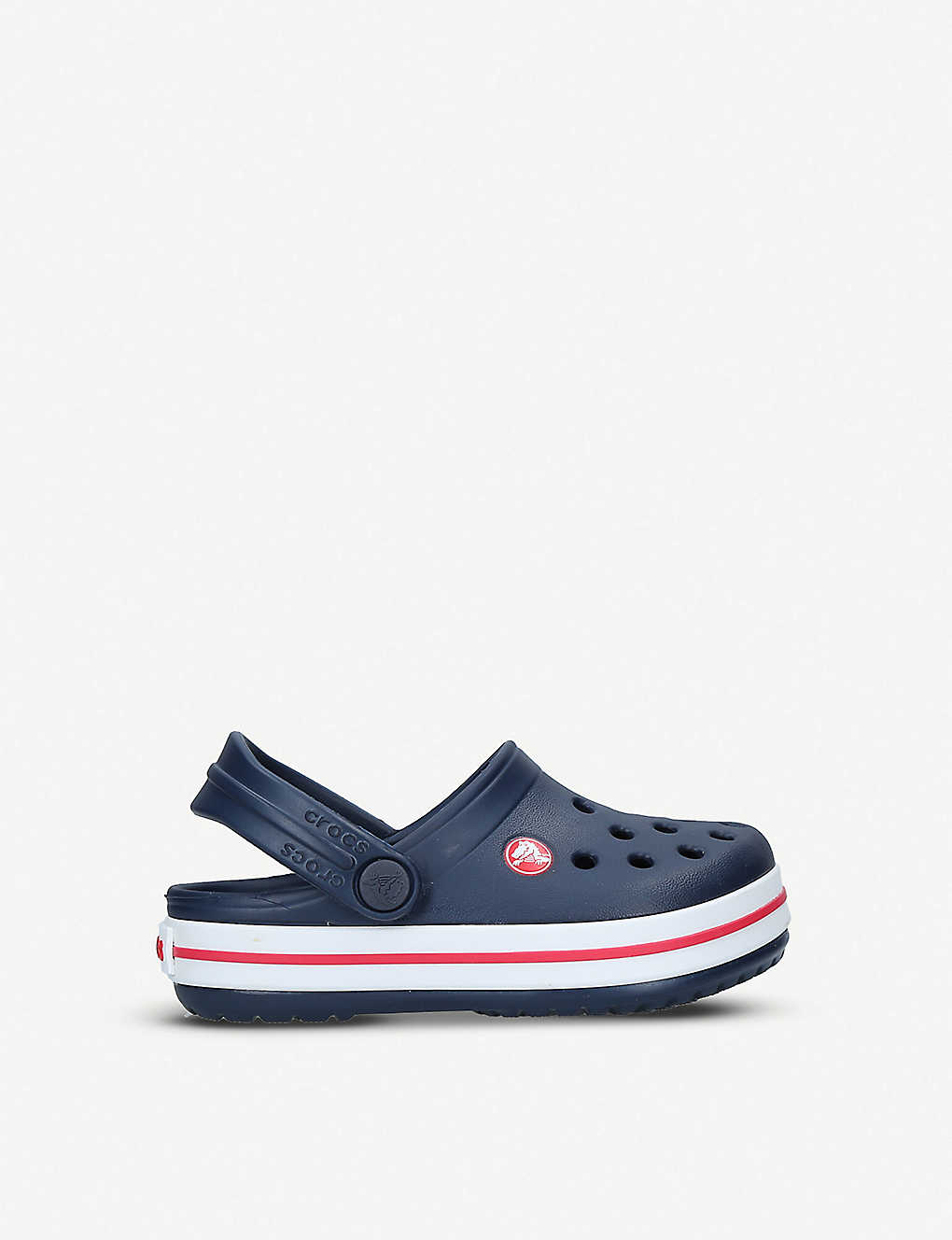 e2c757a077be Crocband rubber clogs 2-8 years - Navy ...